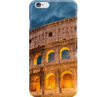 Souvenir from Rome - outside the Colosseum iPhone Case/Skin