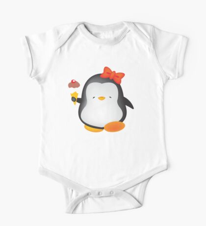 Ice cream penguin One Piece - Short Sleeve