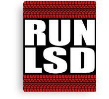 RUN LSD tread Canvas Print