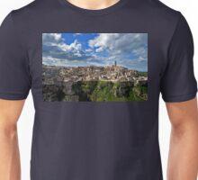Souvenir from Matera - rock village Unisex T-Shirt
