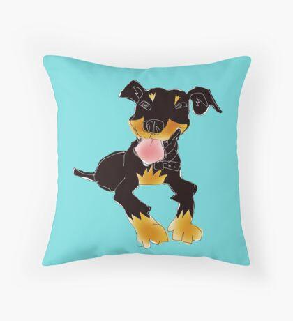 kelpie Throw Pillow