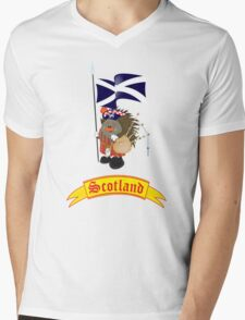 Greetings from Scotland Mens V-Neck T-Shirt