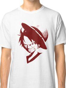Monkey D. Luffy One Piece Anime Classic T-Shirt