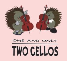 two cellos One Piece - Short Sleeve
