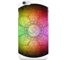 Colours of Om - No BG iPhone Case/Skin