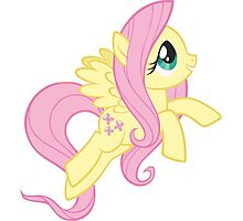 Fluttershy Image Photographic Print