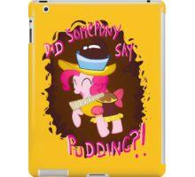 Pinkie Pudding Pie iPad Case/Skin