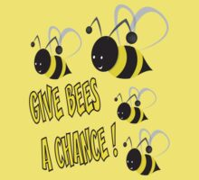 Give bees a chance Kids Tee