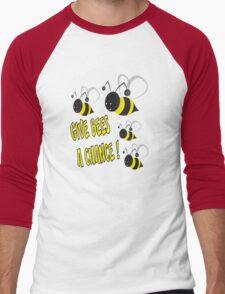 Give bees a chance Men's Baseball ¾ T-Shirt