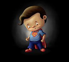 Mini Superman Fan Art by yajyolid