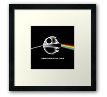 The dark side of the force Framed Print