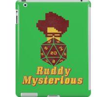 Ruddy Mysterious  iPad Case/Skin
