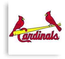 ST LOUIS CARDINALS LOGO Canvas Print