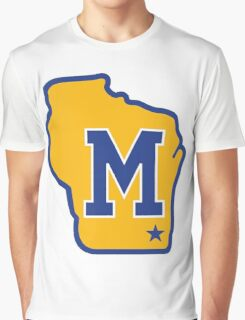 MILWAUKEE BREWERS LOGO Graphic T-Shirt