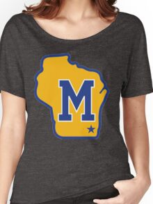 MILWAUKEE BREWERS LOGO Women's Relaxed Fit T-Shirt