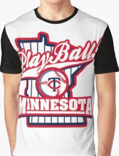 MINNESOTA BASEBALL LOGO Graphic T-Shirt