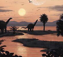 Jurassic Beach by Fil Gouvea