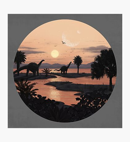 Jurassic Beach Photographic Print