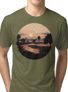 Jurassic Beach Tri-blend T-Shirt