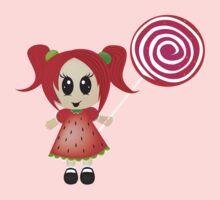 sweet like candy One Piece - Short Sleeve