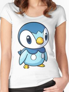 Piplup 2 Women's Fitted Scoop T-Shirt