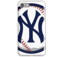 NEW YORK YANKEES INSIDE THE BALL iPhone Case/Skin