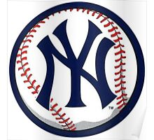 NEW YORK YANKEES INSIDE THE BALL Poster