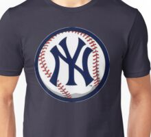 NEW YORK YANKEES INSIDE THE BALL Unisex T-Shirt