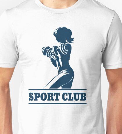 Athletic Sport Club Emblem Unisex T-Shirt