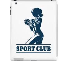 Athletic Sport Club Emblem iPad Case/Skin