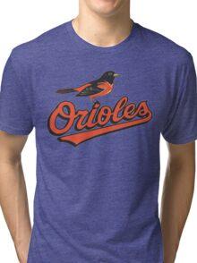 BALTIMORE ORIOLES Tri-blend T-Shirt