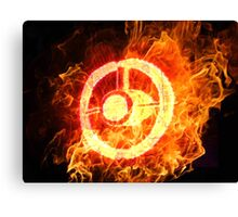 u2 360 burning Canvas Print