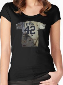 RIVERA THE LEGEND!!! Women's Fitted Scoop T-Shirt