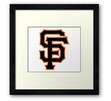 SAN FRANCISCO BASEBALL Framed Print