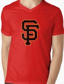 SAN FRANCISCO BASEBALL Mens V-Neck T-Shirt