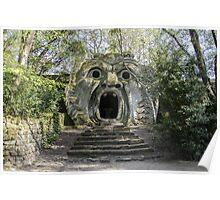 Souvenir from Bomarzo - monster's castle Poster