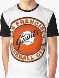 SAN FRANCISCO GIANTS BASEBALL Graphic T-Shirt