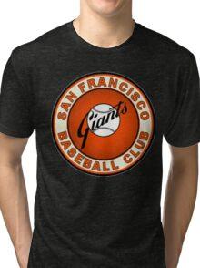SAN FRANCISCO GIANTS BASEBALL Tri-blend T-Shirt