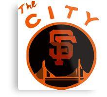 THE CITY SAN FRANCISCO Metal Print