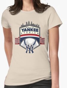 YANKEE STADIUM  Womens Fitted T-Shirt