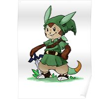 Chespin The Swordman Poster