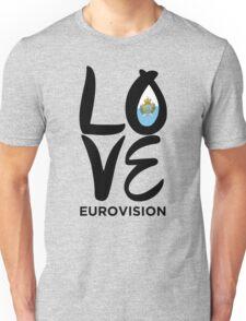 Love Eurovision [San Marino] Unisex T-Shirt