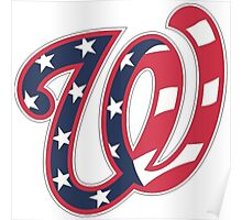 THE WASHINGTON NATIONALS Poster
