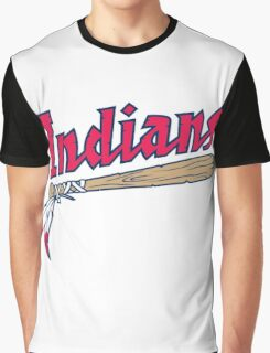 CLEVELAND INDIANS LOGO Graphic T-Shirt