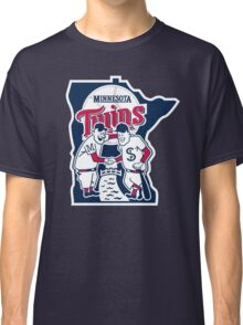 MINNESOTA TWINS LOGO Classic T-Shirt