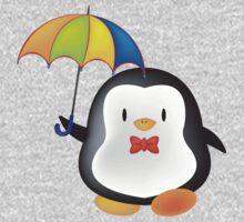 umbrella penguin One Piece - Long Sleeve