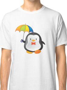 umbrella penguin Classic T-Shirt