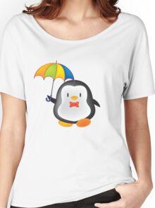 umbrella penguin Women's Relaxed Fit T-Shirt