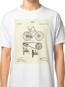 Bicycle-1890 Classic T-Shirt