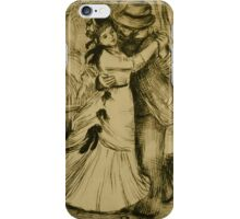 Auguste Renoir - The Dance in the Country 1890 Romantic iPhone Case/Skin